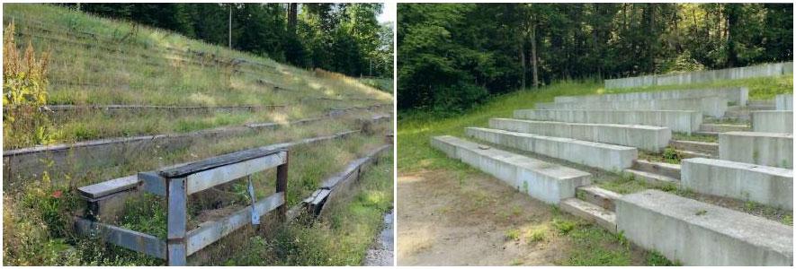 Track Grandstands